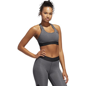 adidas Don't Rest Alphaskin Sport H Brassière de sport Femme, dark grey heather/black